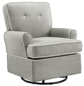 Baby Relax The Tinsley Nursery Swivel Glider Chair