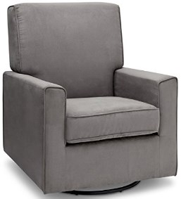 Delta Furniture Ava Upholstered Glider