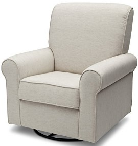 Delta Furniture Avery Upholstered Glider Swivel
