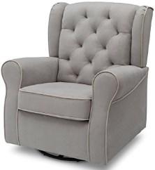 Delta Furniture Emerson Upholstered Glider Swivel Rocker Chair