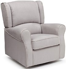 Delta Furniture Morgan Upholstered Glider Swivel