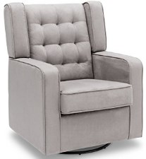 Delta Furniture Paris Upholstered Glider Swivel Rocker Chair