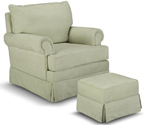 Thomasville Kids Grand Royale Upholstered Swivel Glider