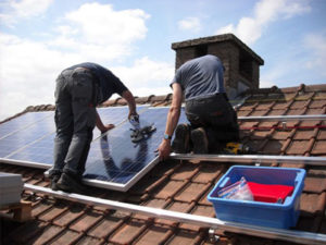 Consider solar panels