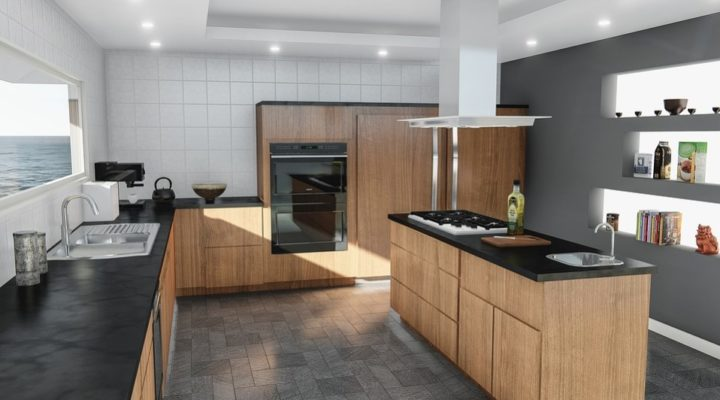 How can you make your kitchen looks modern?