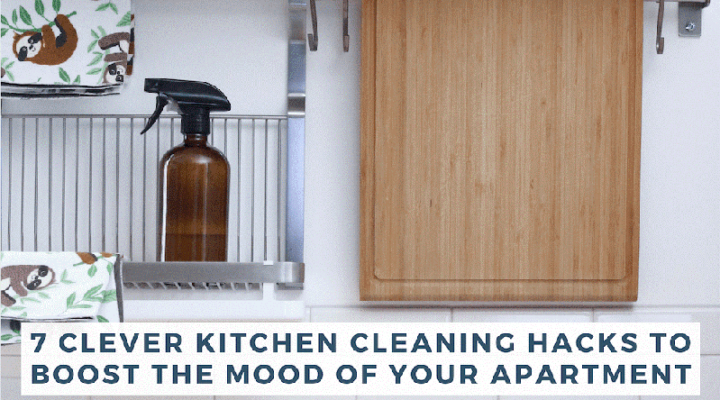 7 Clever Kitchen Cleaning Hacks to Boost the Mood of Your Apartment