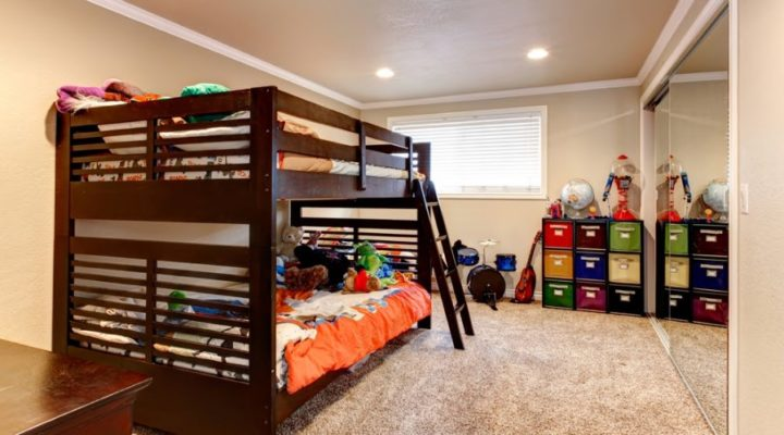 Making a Bedroom for Two Kids – 7 Space Saving Tips