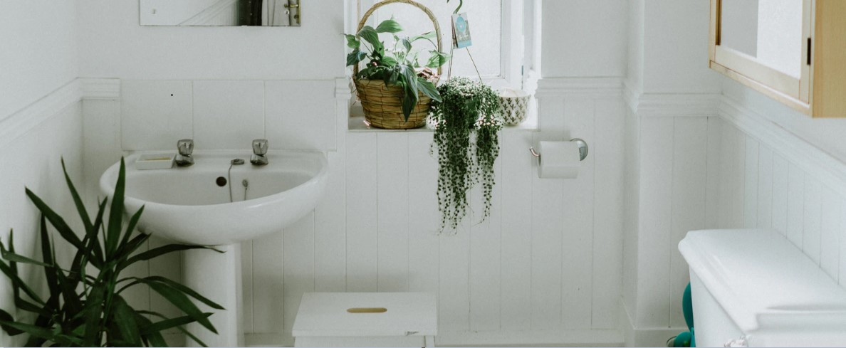 Bring some nature into the bathroom