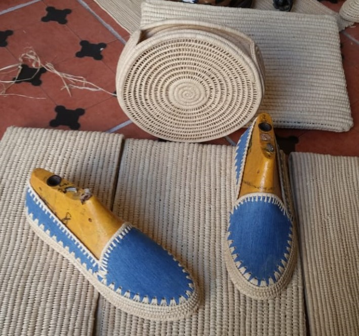 Raffia Shoes