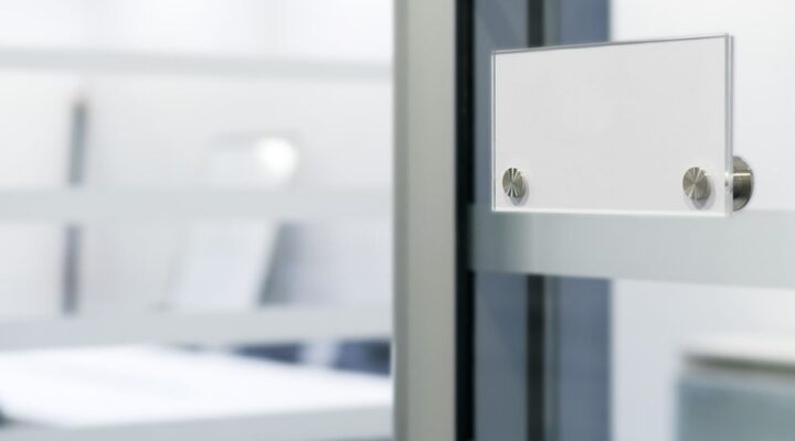 Modern Ways to Design Frosted Glass Doors and Wall Separators for Offices