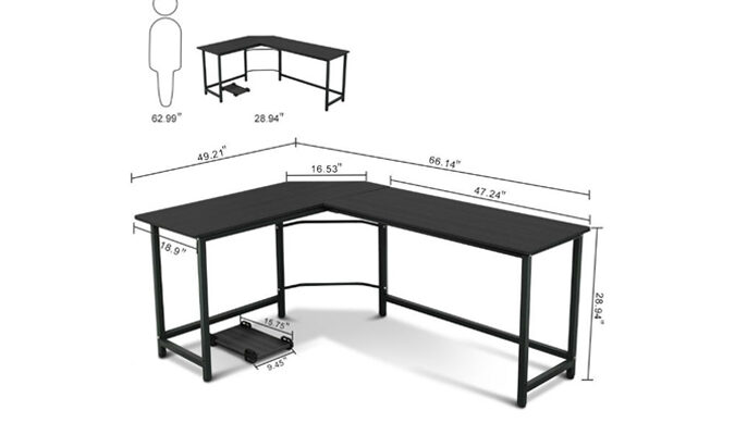 How to Build a Corner Desk