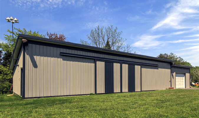 What Are the Benefits of Metal Barns?
