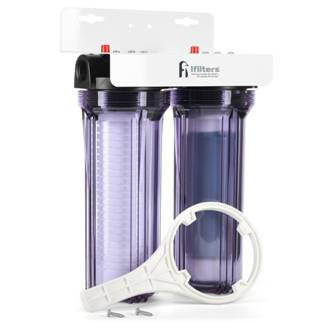 4. iFilters Whole House 2 Stage Water Filter