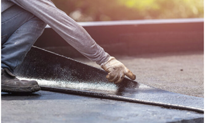Flat Roofs Are Prone to Leaks: Here's How to Temporarily Stop the Problem