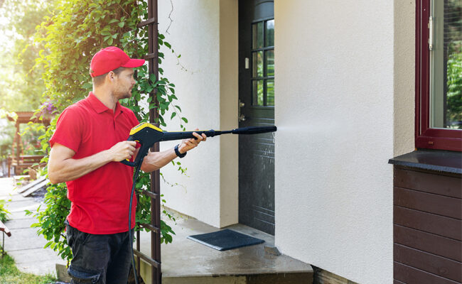 Can You Use a Power Washer to Clean a House?