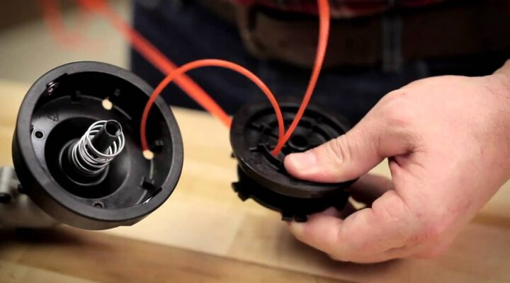 How to Change trimmer line