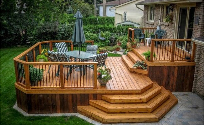 Great outdoor deck designs and ideas