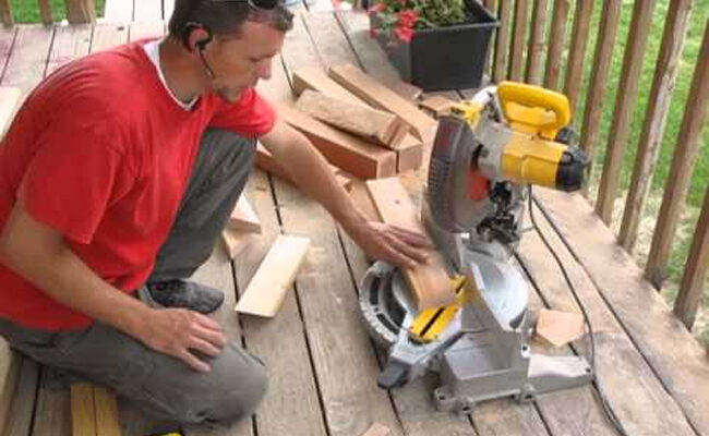 How To Cut Baseboard Inside Corners With The Miter Saw