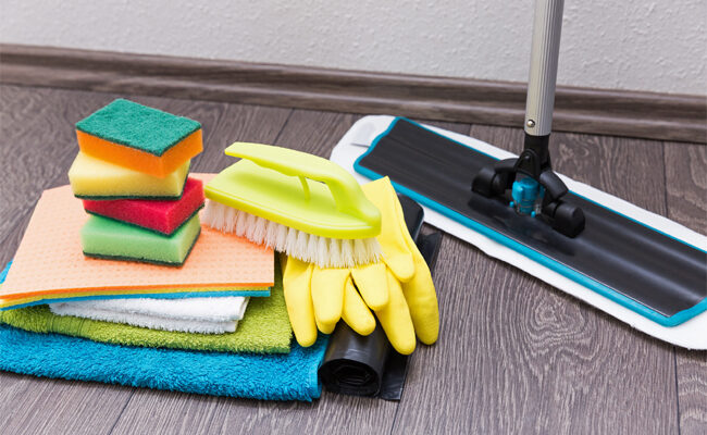 7 Steps to Take When Deep Cleaning a House