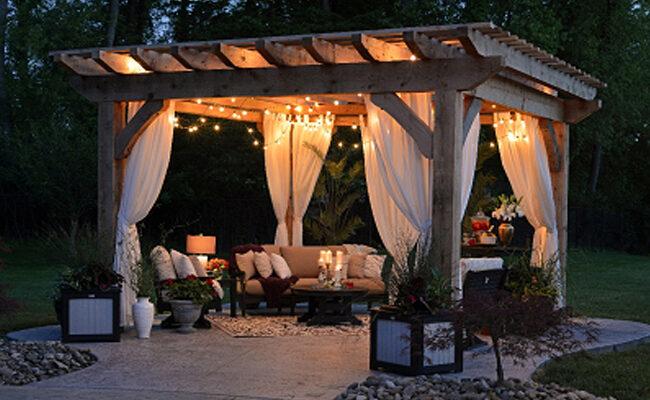 How to design garden lighting?